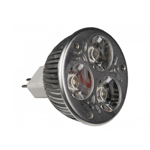 LAMPARA LED MR-16 3x1W WW-30º