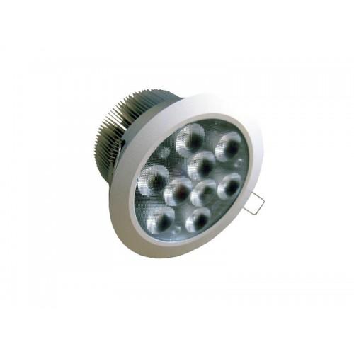 MULTILED LED 9x1W-RGB DC 350mA CON ARILLO DE EMPOTRAR