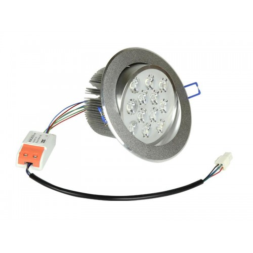 LED DOWNLIGHT 12x1W 12V RGB 4R+4G+4B