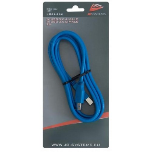 CABLE USB3 A-B 2M JBSYSTEMS