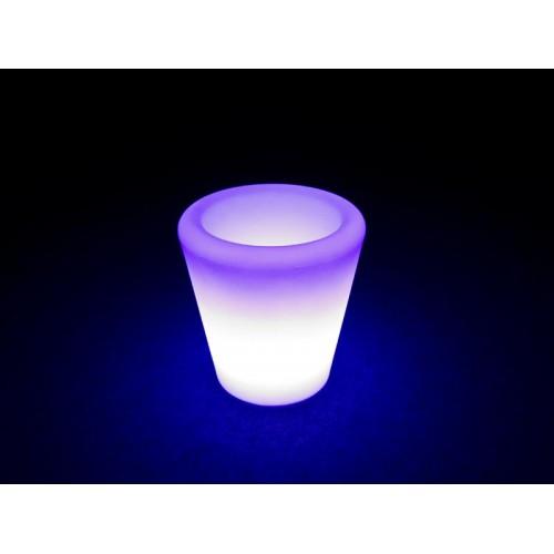 CUBITERA DE LED CIRCULAR RGB + MANDO - LIGHTSIDE
